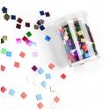 Boite de confettis carrés