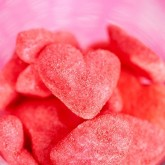 Cœurs fraises Pierrot Gourmand rouge