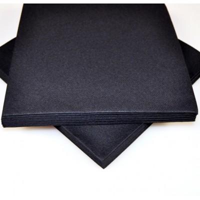 Serviettes voie sèche (x25) noir