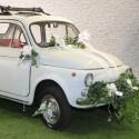 Kit de déco voiture des mariés ivoire