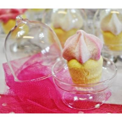 Marshmallows mini-cupcakes