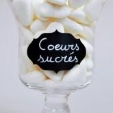 Cœurs vanille Pierrot Gourmand blanc