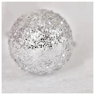 Mini boules festives (x50) argent