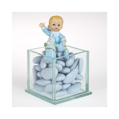 Tricycle bébé bleu