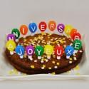 Bougies Joyeux Anniversaire multicolore