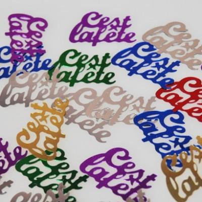 Confettis « Cest la Fête » type