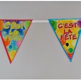 Guirlande fanions « Cest la Fête » type