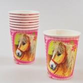 Gobelets chevaux (x8)