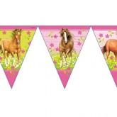 Guirlande fanions chevaux