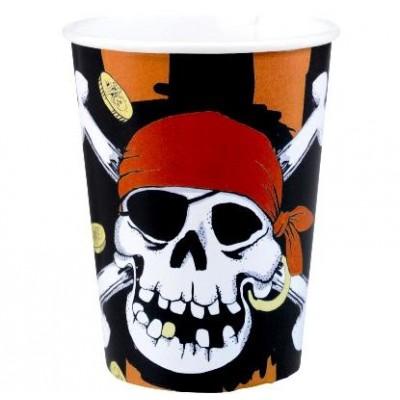 Gobelets pirates (x8)