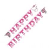 Guirlande Happy Birthday Charmmy Kitty type
