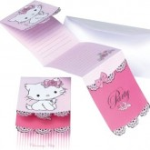 Cartons dinvitation Charmmy Kitty (x6)