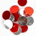 Pastilles miroir (x48) rouge