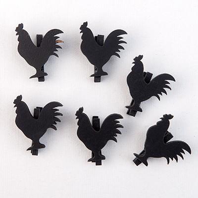 Mini pinces coq (x6)