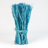 Fagot centre de table bleu