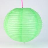 Lampion boule déco vert anis