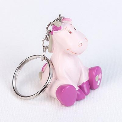 Porte-clés Noukies rose