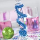 Guirlande fil de Noël turquoise