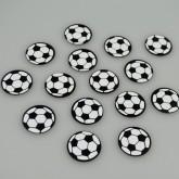 Confettis de table foot blanc/noir