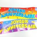 Bannière Joyeux Anniversaire multicolore