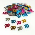Confettis 70 ans multicolore