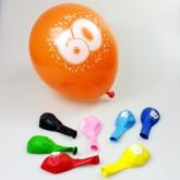 Ballons 60ans (x8)