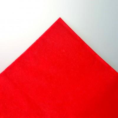 Nappe rectangulaire non tissée rouge