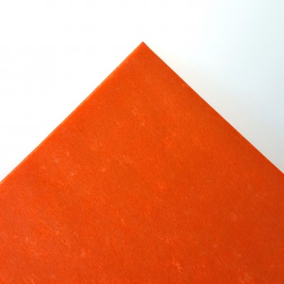 Nappe rectangulaire non tissée orange
