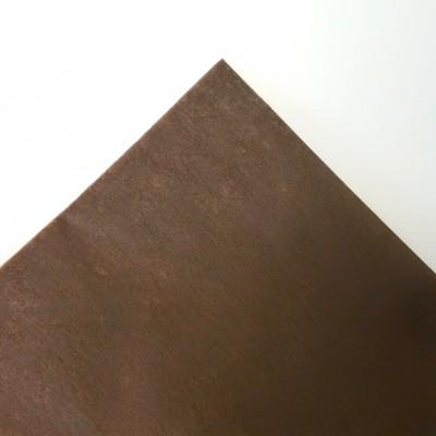 Nappe rectangulaire non tissée chocolat