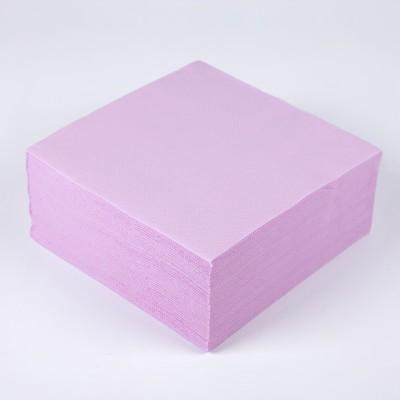 Serviettes papier de couleur rose (x40)