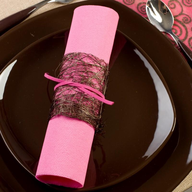 Pliage serviette 2 couleurs montreuil 3723 - Pliage de serviettes 2 couleurs ...