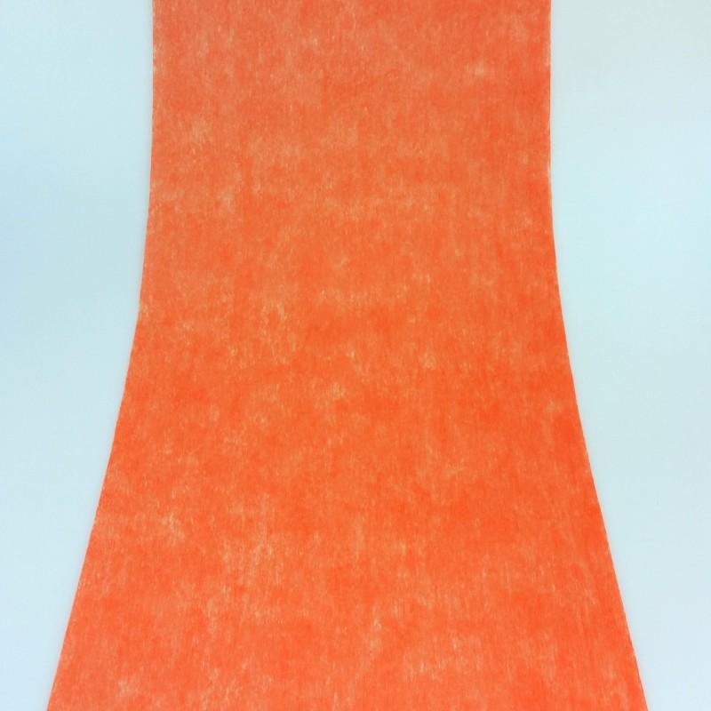 Chemin de table en non tiss orange - Chemin de table orange ...