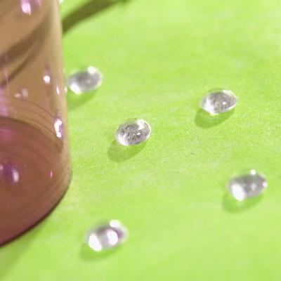 Perles de pluie transparent (x300)