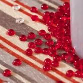 Perles de pluie rouge (x300)