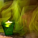 Rouleau de tulle qualité supérieure vert anis