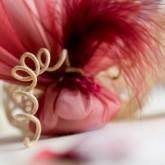 Ruban corde laitonné de couleur ivoire