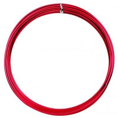 Fil métallique déco rouge