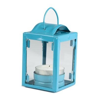 Petite lanterne turquoise