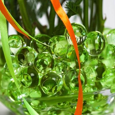 Sachet de perles d'eau vert anis