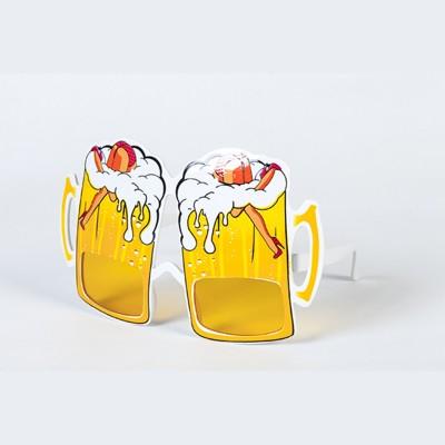 Lunettes sexy chopes de bière type