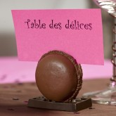 Macaron marque place chocolat