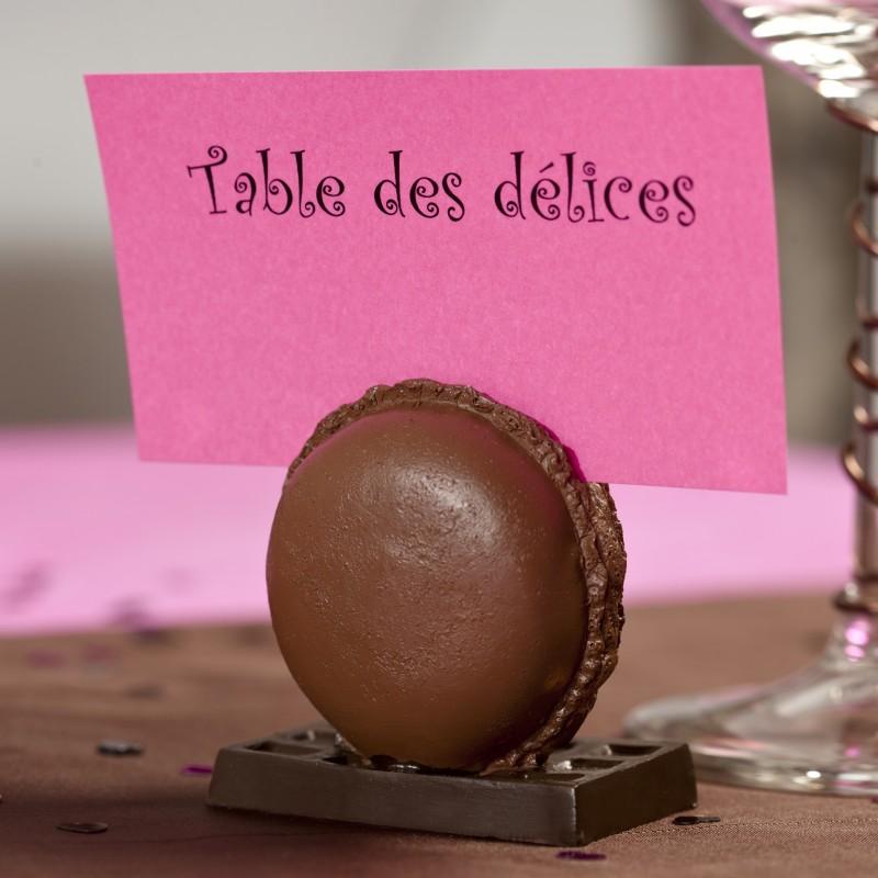 Macaron marque place chocolat Marque de deco