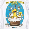 Tee-shirt à signer J.anniversaire type