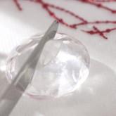 Marques-place diamants (x4) transparent