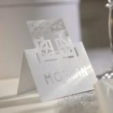 Marques-place croix  (x20) blanc