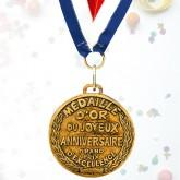 Médaille d'or J. Anniversaire