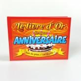 Livre d'or anniversaire 1 an de plus