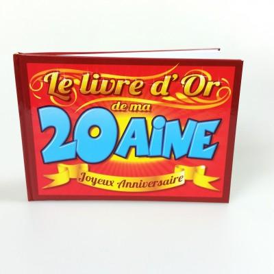 Livre d'or 20 ans