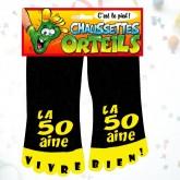Chaussettes orteils 50 aine noir