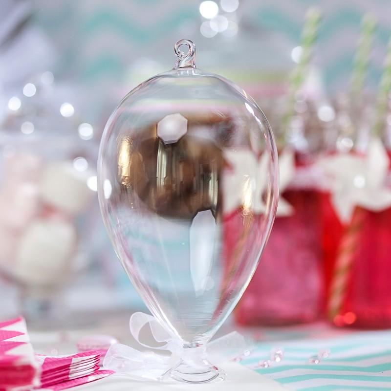 ballon en verre suspendre pour mariage. Black Bedroom Furniture Sets. Home Design Ideas